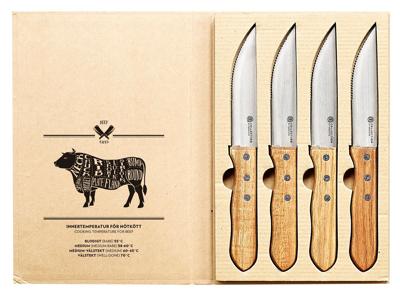 Grillknive 4 stk. i æske