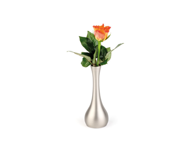 Vase RF-look 1 blomst 4x 16,5 cm rund
