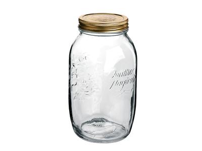 Sylteglas med låg  Quatro 1,5 l