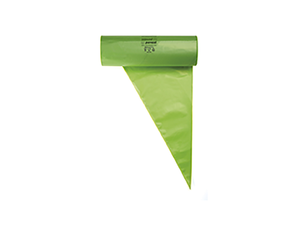 Sprøjtepose, Engangs- 100 stk 53 cm grøn
