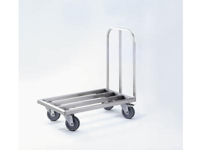 Rullevogn flad max. 400 kg. UDEN plade