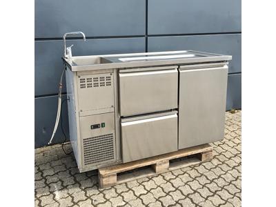 Brugt Kølebord med vask