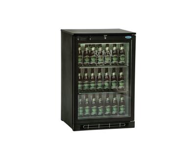 Køleskab 124 ltr 1 glaslåge +2/+10