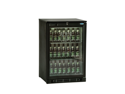 Kylskåp 124 liter 1 glasdörr