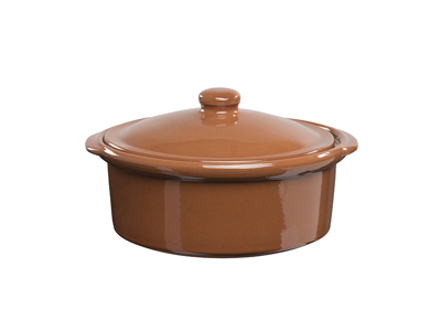 Torrent cocotte m/låg Ø25 cm terracotta