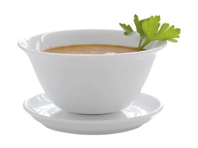 Sauceskål 40 cl traditionel porcelæn