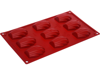 Baking mould madeleines 9 pcs.
