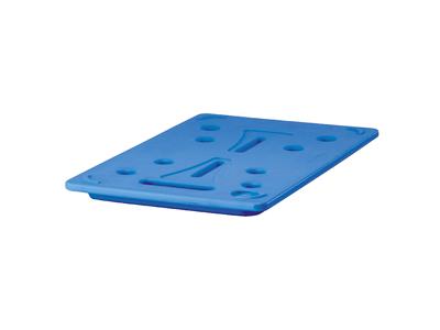 Køleelement 53x32,5x3 cm blå