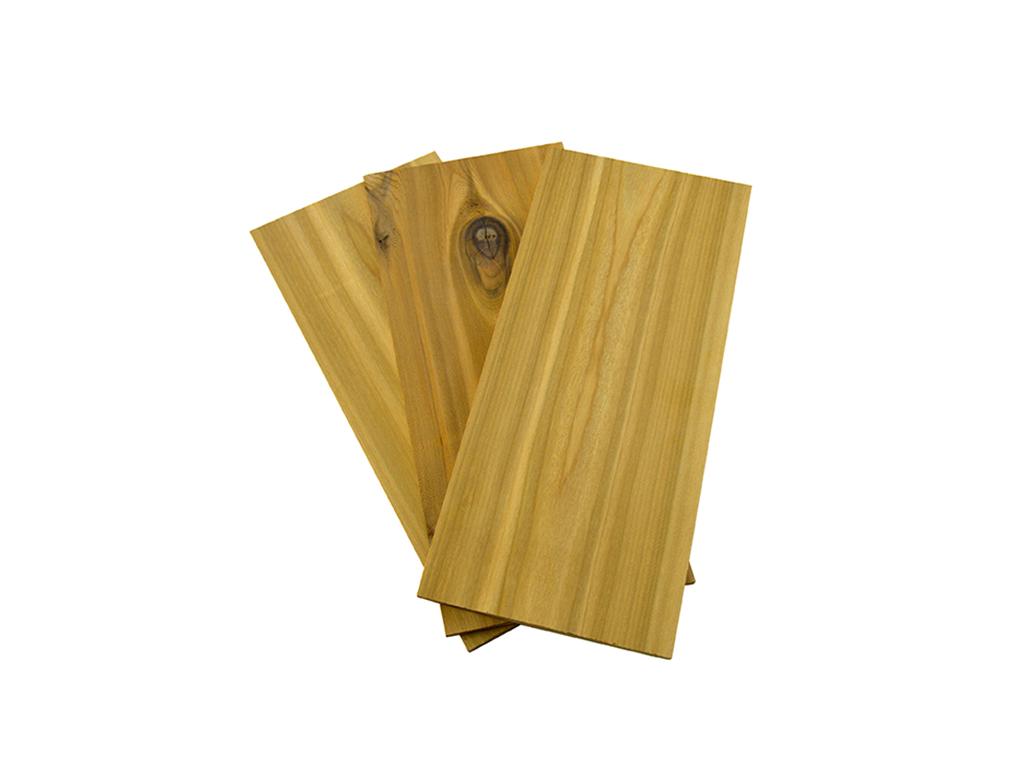 Grillplanker Cedertræ - 3 stk, 30x14 cm
