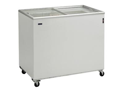 Frysbox 191 liter med glasskjutdörr