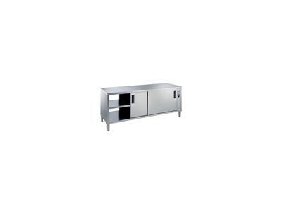 Värmeskåp 1400 mm 1 hylla och 4 dörrar