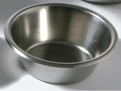 Konisk rustfri skål 1,1 ltr.