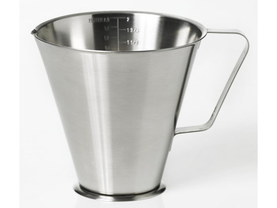 Litermål rustfri 0,25 liter