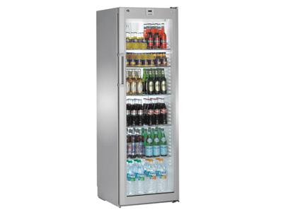 Køleskab 365 ltr 1 glaslåge 0/+15 RF