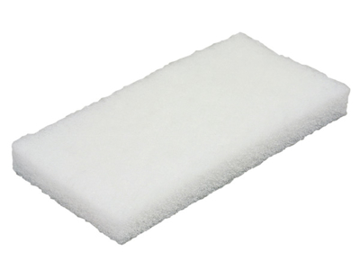 Skurenylon hvid fin pr. stk.