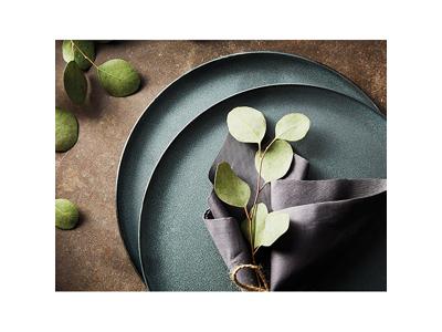RAW Dessert tallerken Ø20  grøn