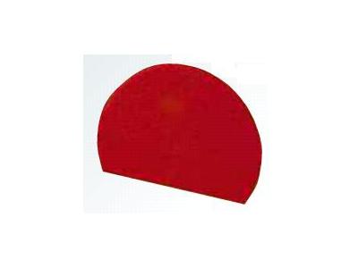 Dejskraber Rød 198 x 148mm rundbue