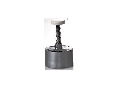 Bøfformer rund 10 cm aluminium