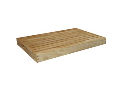 Krummebræt med rist 52x32,5x4,5 cm