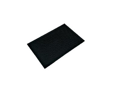 Bar måtte sort plastik 30,5 x 46 cm