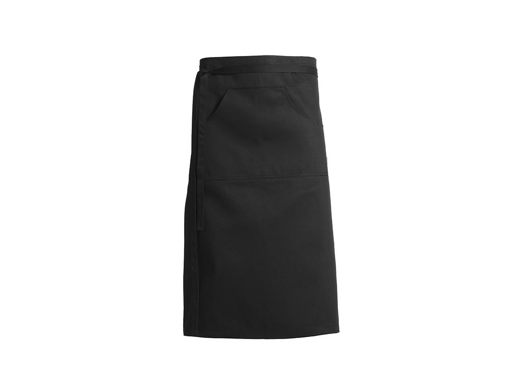 Forstykke sort 110 x 70 cm