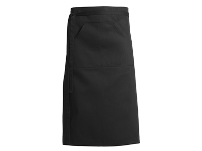 Black Short apron