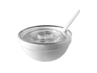 Melamin skål Hvid Ø 20 H 9,5 cm 1,8L