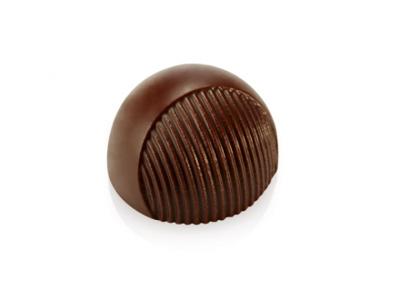 Chokoladeform 21 stk 10 g. Ø 30 x18 mm - Design 2