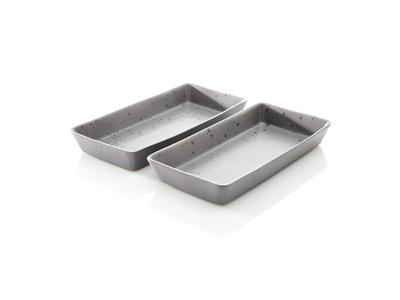 RAW Fadsæt 2-dele 38x19,5 cm grå