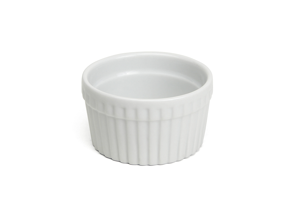 Ramekin hvid Ø 9 cm. H 4 cm