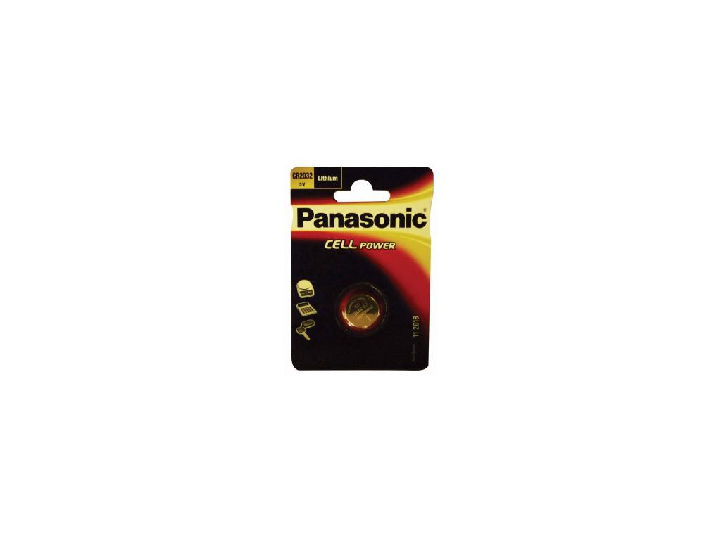 Batteri Knapcelle CR2032 3 V Panasonic
