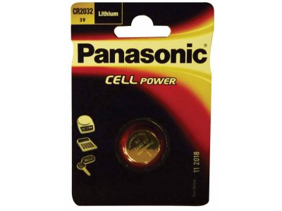 Batteri Knapcelle CR2032 3 V Panasonic