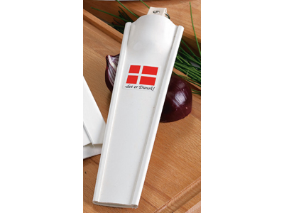 Knivskede, hvid plast 1 rum til udbenere