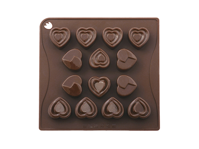 Chocolate mould Love