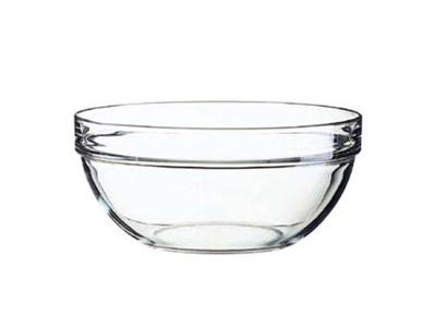 Glasskål stabelbar 26 cm 3,4 ltr.