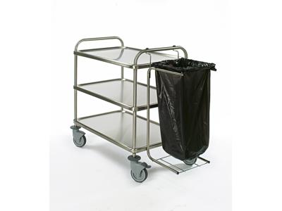 Bourgeat Affaldssækholder til rullebord