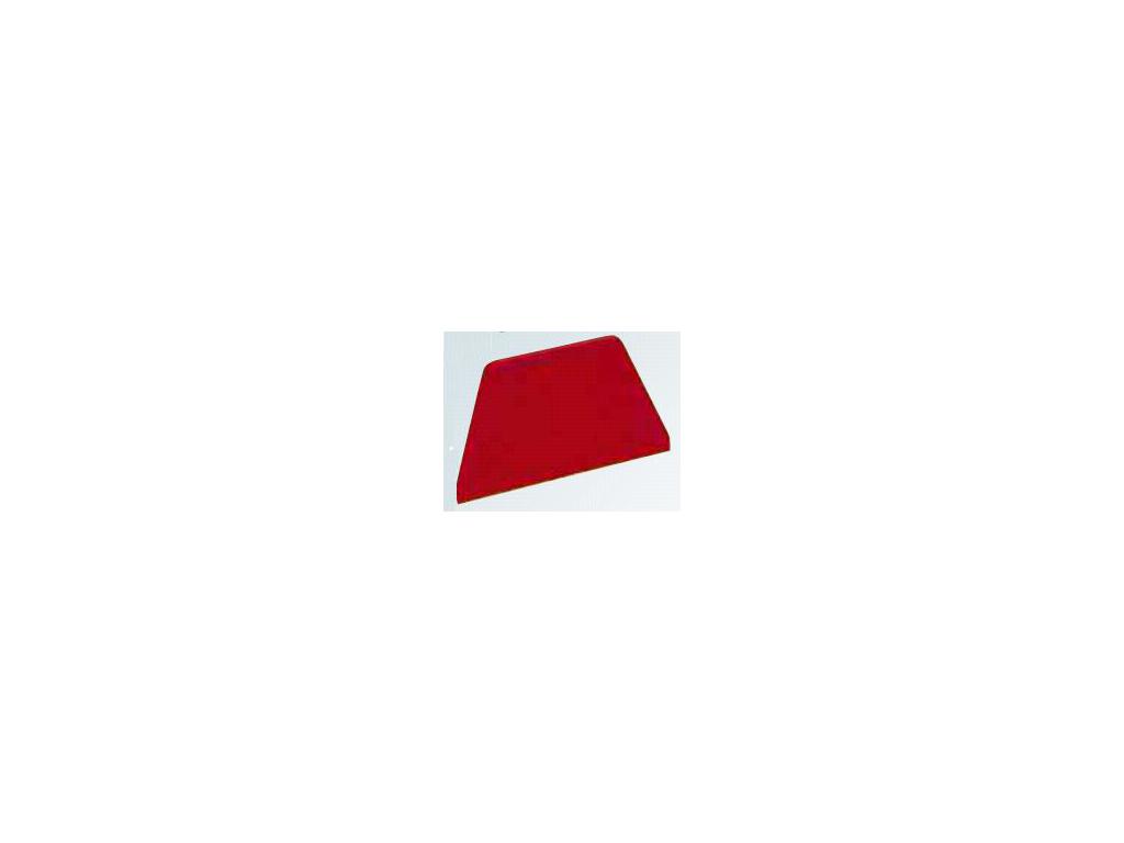 Dejskraber Rød 216 x 128mm trapez