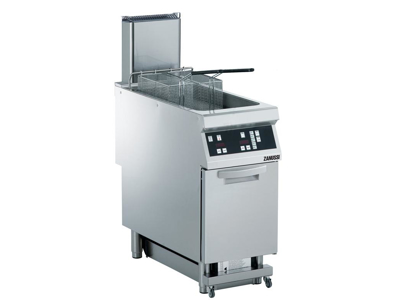 Friture 23 ltr m/skab el elek 400 mm 900