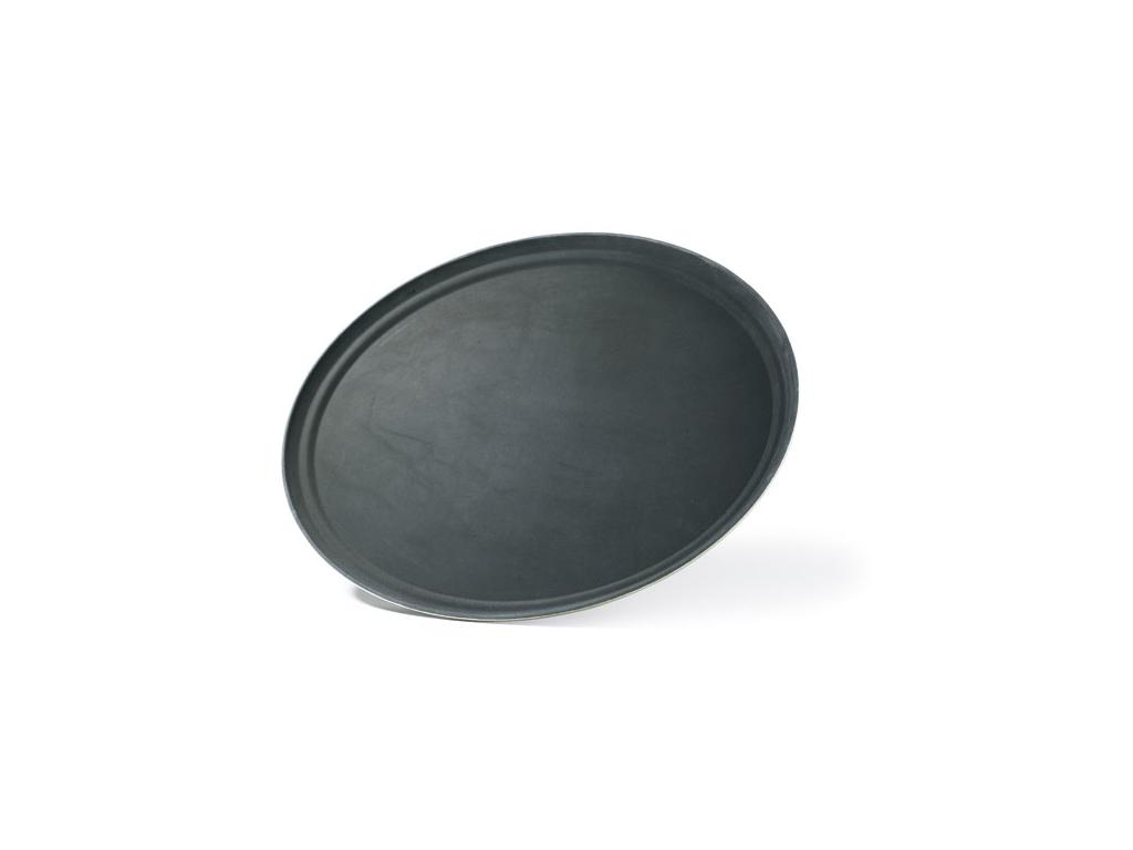 Bakke oval, skridsikker, 56x68 cm