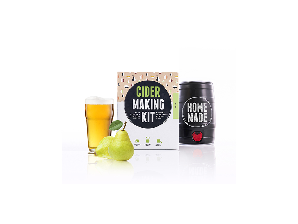 Cider making kit Pære 5 ltr