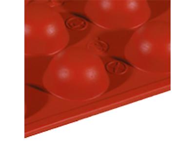 Bageform Silicone 1/3 GN, 24 halvkugler