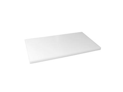 Skærebræt polyd Hvid 40x30x1 cm