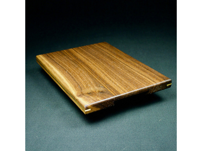Smørbrik Plain 20x15x1,5 cm Valnød