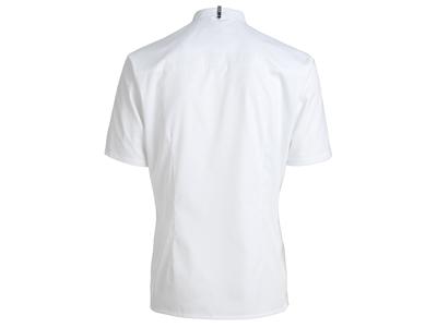 Kokkeskjorte kort ærm hvid XS