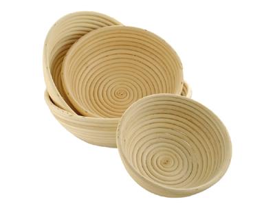 Cesta de pan redonda