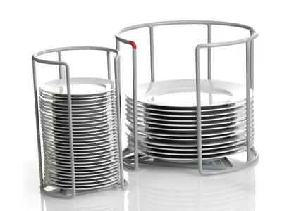 Sujetador para platos