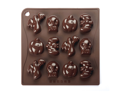Chocolate mould Halloween