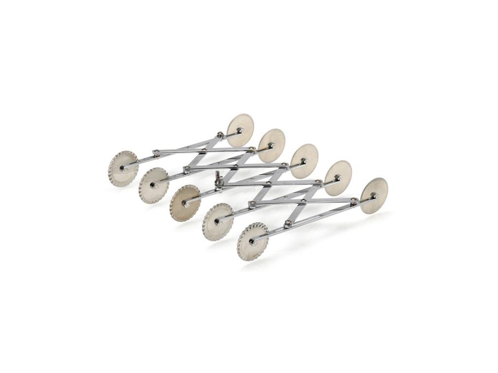 Degsporre/-skärare med 5 x 2 hjul, Ø55 mm
