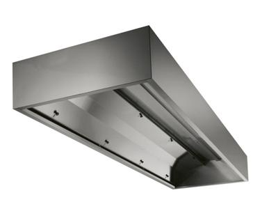 Emhætte 1200x1200 mm vægh m/kondensskjo