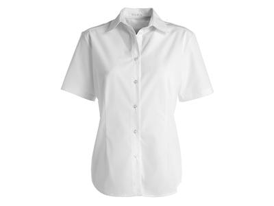 Kentaur Skjorte Dame Hvid m/kort ærm